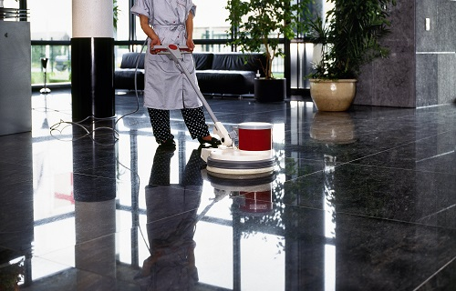 machine de nettoyage sol